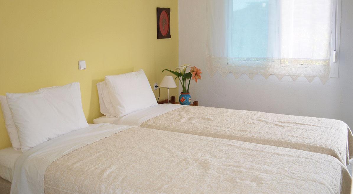 Studio 2 ατόμων με μονά κρεβάτια